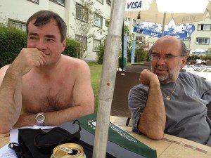 Richard Elliott and Grant McFadden