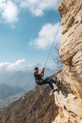 iniziare ad arrampicare