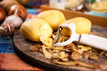 Carburante di riciclo dalle bucce di patate