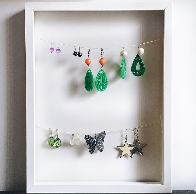 Porta gioielli fai da te idea di riciclo creativo virosac magazine - Portagioielli fai da te ...