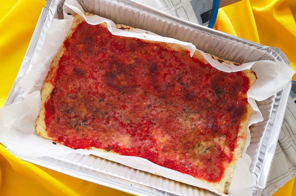 pizza di cavolfiori ricetta ingredienti procedimento virosac magazine