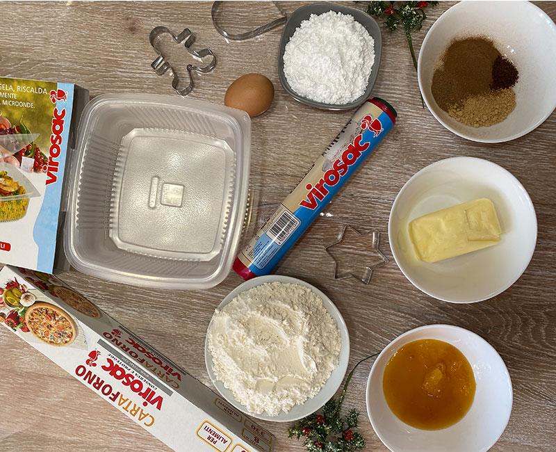 biscotti pan di zenzero ricetta di natale virosac magazine ingredienti