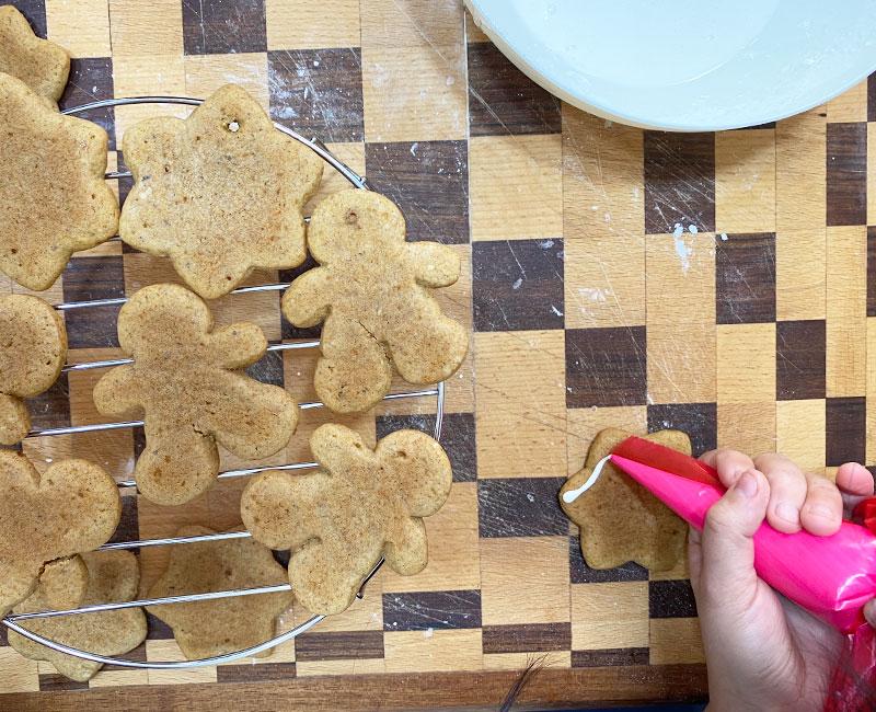 biscotti pan di zenzero ricetta di natale virosac magazine decorazione