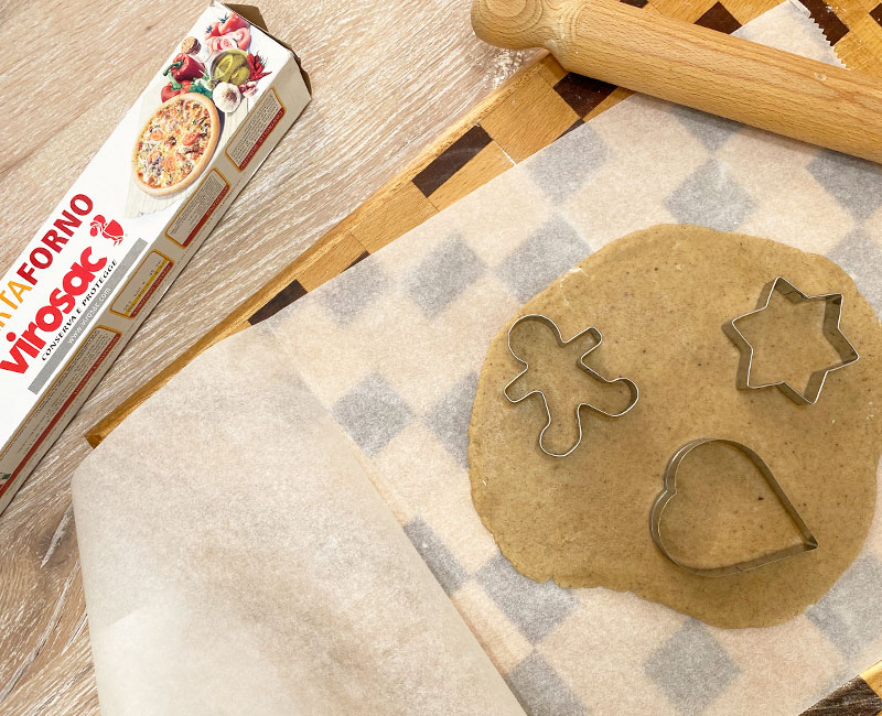 biscotti pan di zenzero ricetta di natale virosac magazine formine