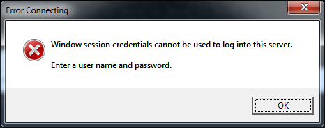 windows-session-credentials-cannot-be-used