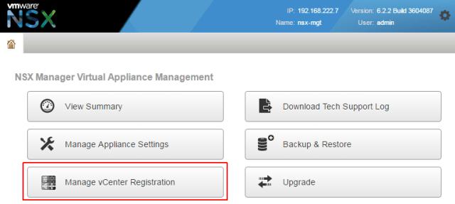 nsx-manager-webinterface-homescreen