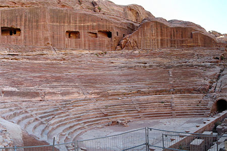 Petra, The Theater