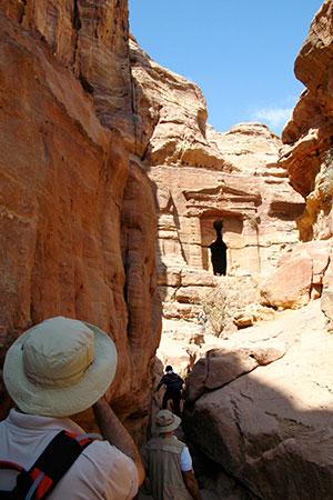 Petra, the Monastery, Lion Triclinium