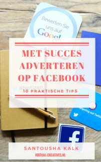 Download mijn E-boek: Met Succes Adverteren op Facebook