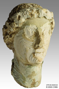 Ivory image of emperor Constantine
