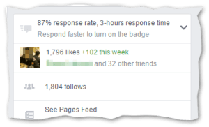 Virtual Form Facebook page likes