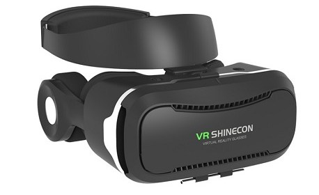 VR Shinecon V4 (Mobile VR Headset With Headphones)