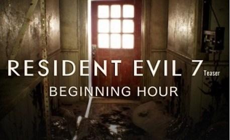 Resident Evil 7 Teaser: Beginning Hour (PSVR)