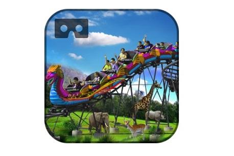Safari Roller Coaster Ride VR (Google Cardboard)