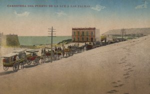Archivo de la FEDAC Fotógrafo sin identificar. Ao 1900-1905 Carretera del Puerto a Las Palmas.
