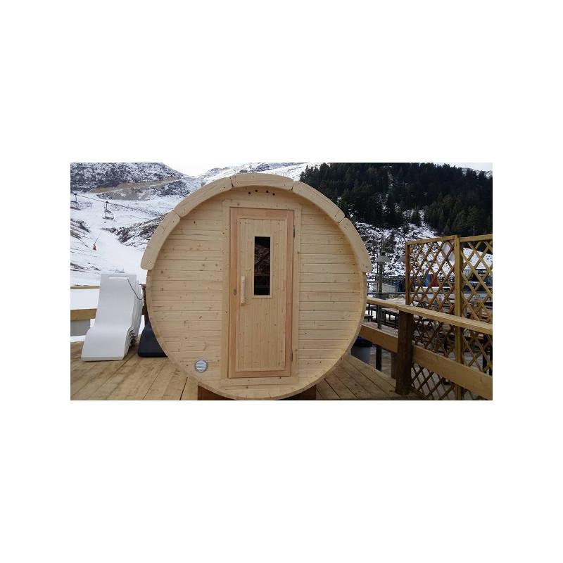 Sauna Finlandese A Botte Da Esterno D 19 M L 20 M Ottimo