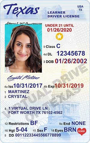 Texas Learners Permit - Six Steps to Getting Your Texas