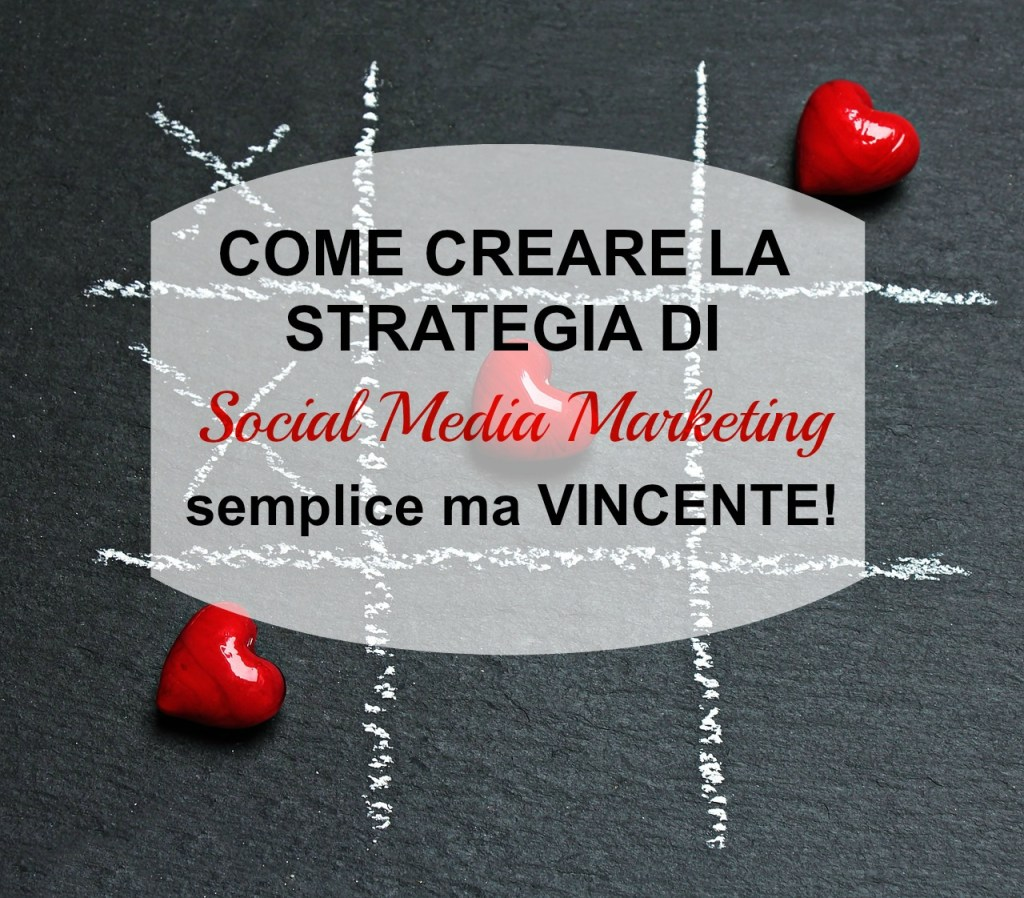 Come creare una strategia di social media marketing semplice ma infallibile