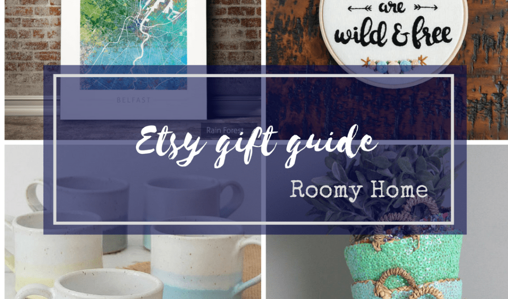 Etsy Holiday Gift Guide Roomy Home blog post