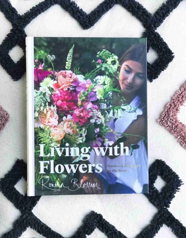 Living with Flowers Rowan Blossom front cover