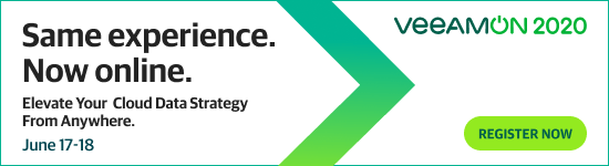 Register for VeeamON 2020 Virtual