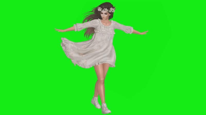 Second Life Tutorial Remove Greenscreen
