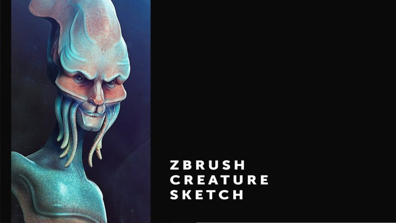 Zbrush Creature Sketch // 001
