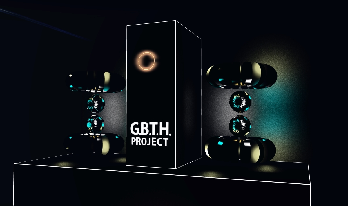 Second Life® and G.B.T.H. Project with Megan Prumier's immersive installation