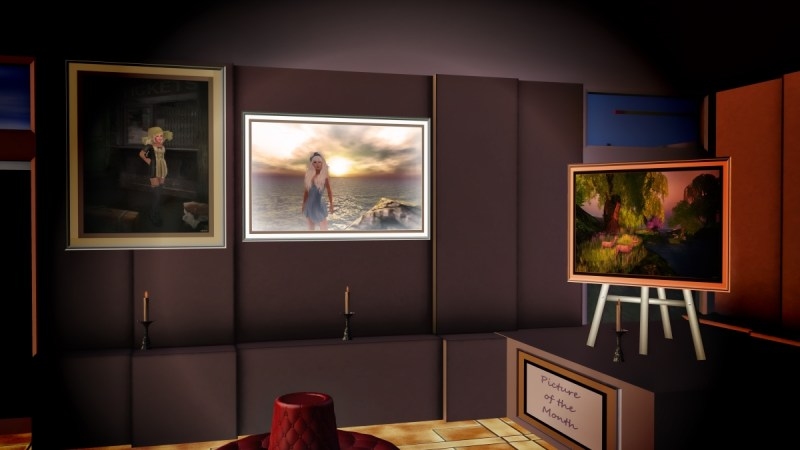"""The Heights at Haven"" Art Gallery in Second Life®"