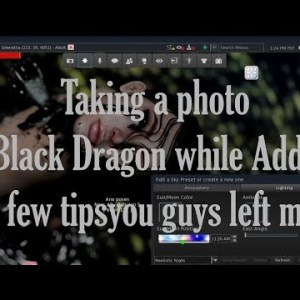 Taking Tips from you guys in Black Dragon!