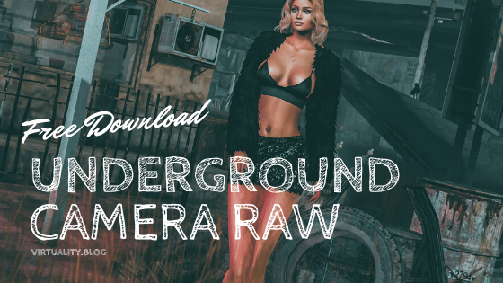 Download my Underground Camera Raw Filter (Photoshop)