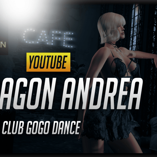 Paragon ANDREA Club Gogo Dance for equal10|Second Life