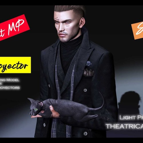 Second Life Photography – Light Proyector (Theatrical lighting) & FREE