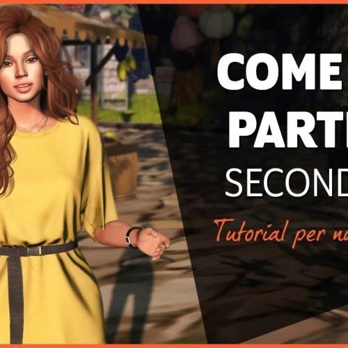 Second Life Tutorial per nuovi utenti