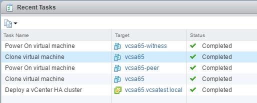 vcsa65_ha15如何配置VMware VCSA 6.5 HA