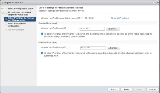 vcsa65n_ha03如何配置VMware VCSA 6.5 HA
