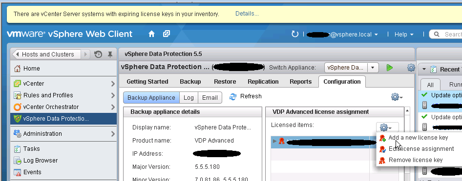 VDP Advanced Host license