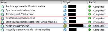vSphere Replication full sync before datacenter migration