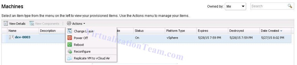 vRA Integration with DRaaS with vCO Plugin