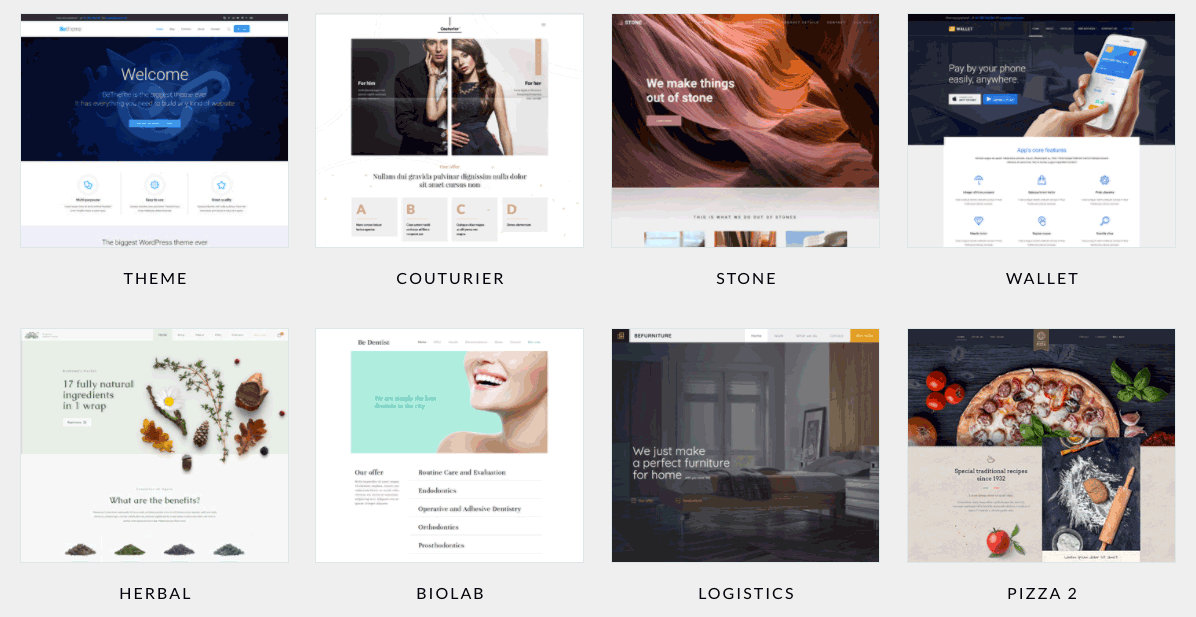 BeTheme for WordPress