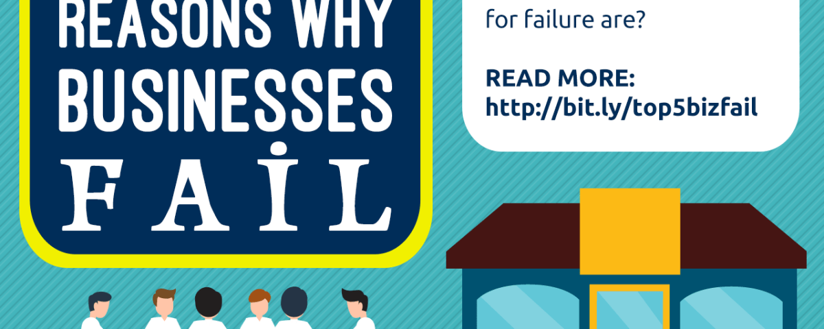 5 Top Reasons Why Businesses Fail