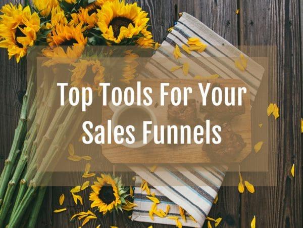 sales funnels tools, web builders, autoresponders, online sales funnels, shopping carts