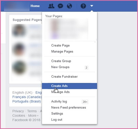 Scale Business Create FB Ad
