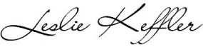 Leslie Keffler Signature