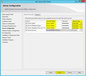 12 Server Configuration