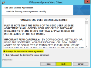 15 Web Client License Agreement
