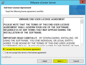 35 vCenterServer License Agreement