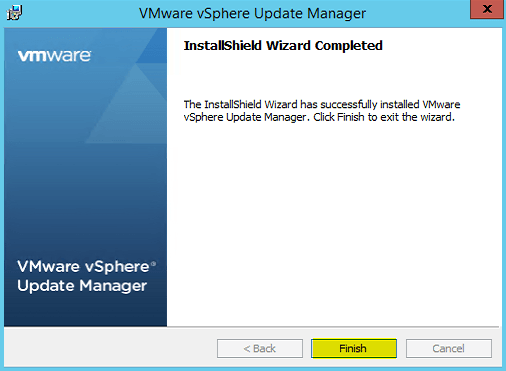 14 VUM Install Complete