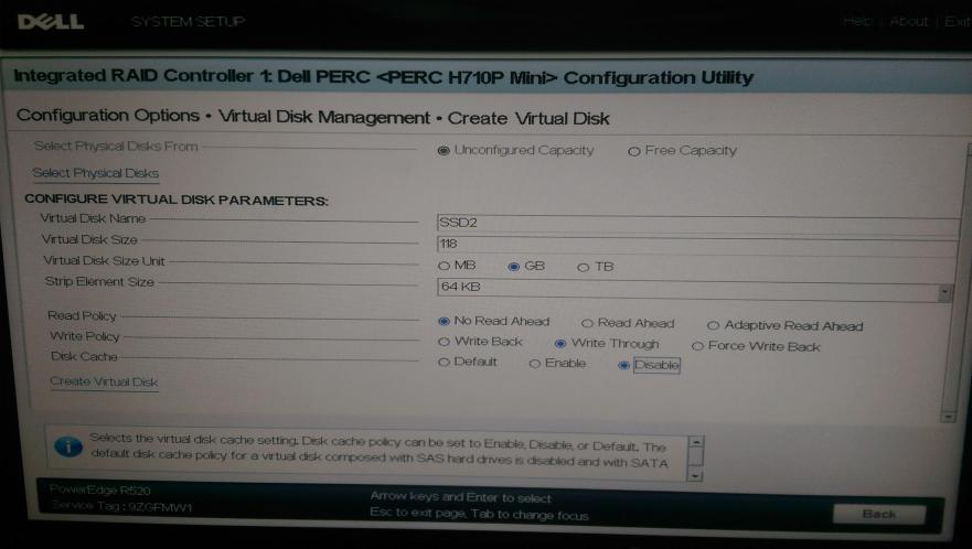 H710P - RAID settings per VSAN Guide - 02