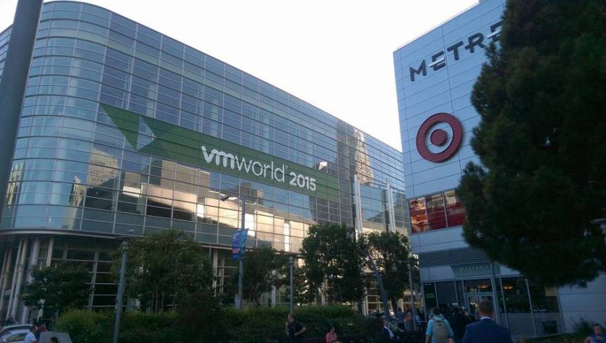 VMworld 2015 - Moscone West in San Francisco